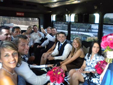 Party Bus Detroit Weddings